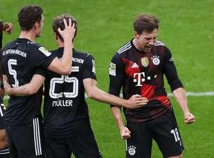 Bayern vence o RB Leipzig e dispara na liderança do Alemão