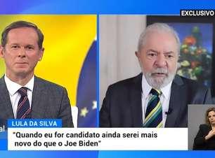 Lula comete ato falho e é flagrado por âncora de telejornal