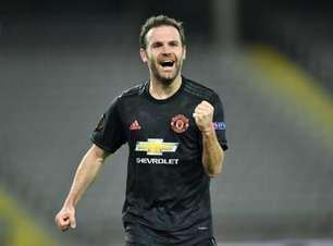 Manchester United deve renovar com Juan Mata por uma temporada