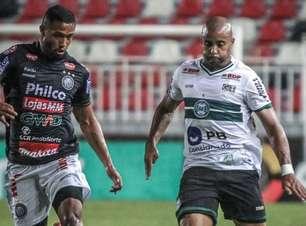 Coritiba bate Operário em jogo de cinco gols e segue vivo na Copa do Brasil