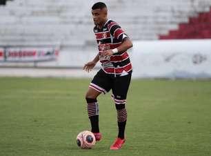 Recuperado da Covid-19, Felipe Almeida volta a treinar junto do elenco do Santa Cruz