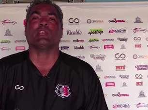 """SANTA CRUZ: Roberto de Jesus garante estar a vontade no cargo antes de decisão na Copa do Brasil: """"Arruda é a minha casa"""""""