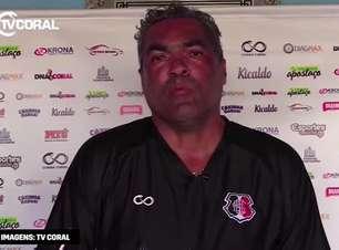 """SANTA CRUZ: Técnico interino, Roberto de Jesus destaca que time está 'ferido', mas não está caído para disputa contra o Cianorte: """"parte emocional é essencial"""""""