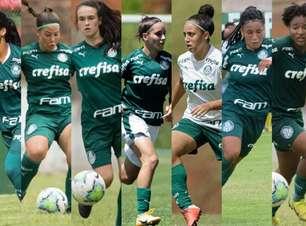 Palmeiras feminino promove oito atletas da base para o elenco profissional em 2021