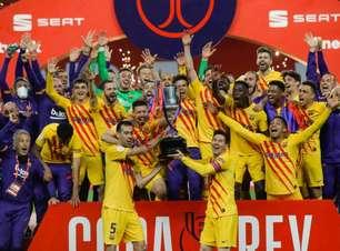 Após título, presidente do Barcelona diz que acredita em permanência de Messi: 'Convencido de que quer ficar'