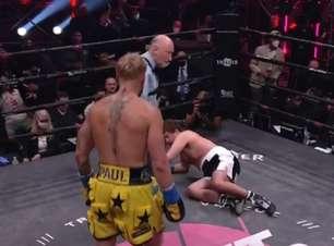 Youtuber Jake Paul nocauteia ex-UFC Ben Askren em um minuto, fatura R$ 4 milhões e segue invicto no Boxe