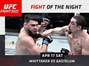 Robert Whittaker e Kelvin Gastelum fazem a 'Luta da Noite' no UFC Vegas 24 e faturam R$ 280 mil; veja