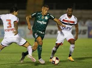 Em maratona de jogos, Palmeiras busca maior utilização da base no Paulista