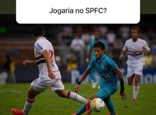 """Em rede social, Neymar diz que """"talvez"""" voltaria ao Santos"""