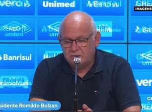 """GRÊMIO: Romildo revela prioridade em treinador brasileiro para comandar a equipe: """"Tem que conhecer nosso grupo e a realidade do futebol nacional"""""""