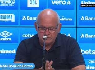 """GRÊMIO: Romildo garante que antes de definir nome para o lugar de Renato Gaúcho, a prioridade é encontrar um novo vice de futebol: """"Ele que definirá o novo treinador"""""""