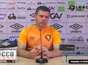 """SPORT: Umberto Louzer é apresentado, elogia elenco e destaca sobre ter aceito convite: """"maior clube da região"""""""
