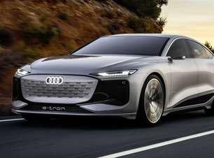 Audi revela A6 e-tron, um sedã elétrico com pinta de cupê