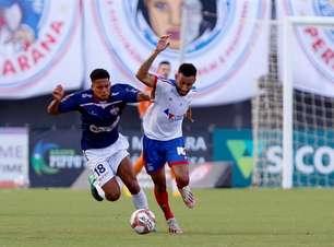 Titular no Estadual, Renan Guedes comemora inscrição pelo Bahia na Sul-Americana