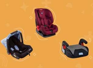 18 cadeirinhas de bebê para um transporte mais seguro e confortável