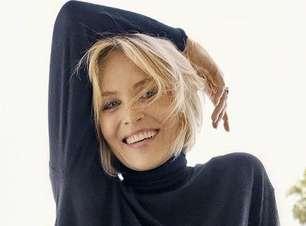 'Lado direito do rosto desabou', diz Sharon Stone após AVC