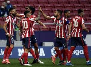Atlético de Madrid vence Huesca e volta à liderança isolada