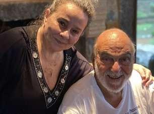 Lima Duarte publica foto ao lado da filha Débora Duarte