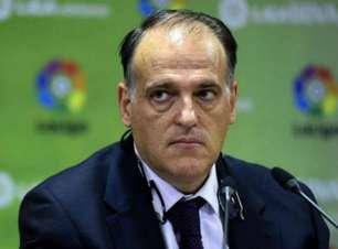 Presidente da La Liga garante que não haverá punição para Real Madrid e Barcelona