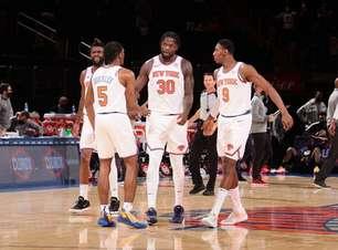 Randle dá show, Knicks bate Hawks e sobe para o quarto lugar no Leste