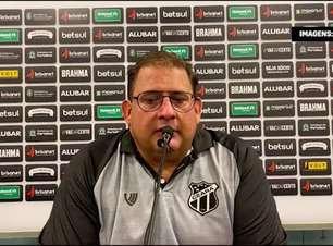 """CEARÁ: Guto Ferreira exalta campanha do time após classificação para final da Copa do Nordeste: """"traz crescimento e confiança"""""""