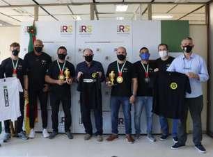 Medalhistas no World Pro em Abu Dhabi, atletas são recebidos pelo Secretário de Esportes do Rio Grande do Sul