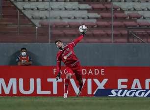 Atlético-MG confirma lesão no ombro de Rafael e o goleiro ficará fora dos gramados por seis meses