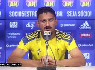 """CRUZEIRO: Ramon fala em 'pensar grande' visando as competições nacionais: """"Vai vir coisas boas"""""""