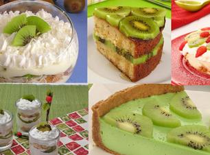 Garanta a sobremesa do domingo: 10 receitas com kiwi, a fruta da estação