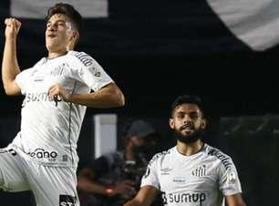 Gabriel Pirani comemora gol na Libertadores e vê Santos mais confiante