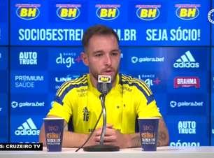 """CRUZEIRO: Bruno José projeta confronto de volta contra o América-MG e acredita: """"Será decidido no detalhe"""""""