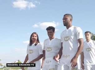 CRUZEIRO: Clube apresenta a camisa branca para a temporada 2021