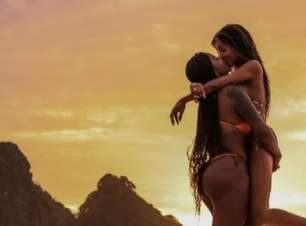 Ludmilla se declara para a esposa em viagem a Fernando de Noronha: 'Te amo'