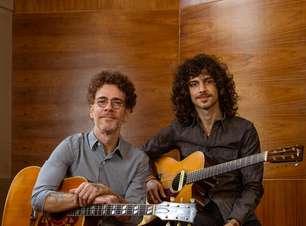 Nando Reis grava pela primeira vez com filho Sebastião Reis