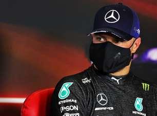 """Bottas sobre largada da F1 na Espanha: """"Não vi Leclerc"""""""