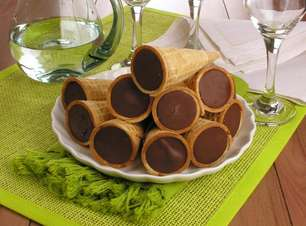 Casquinha trufada de chocolate para saborear em casa ou vender