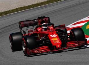 """Leclerc aprova 4º lugar na Espanha após luta intensa: """"Foi o que pudemos fazer"""""""