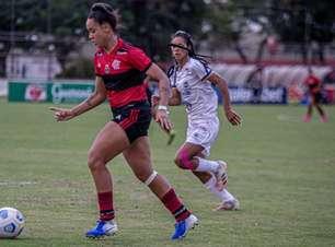Rafa Barros marca duas vezes, mas Flamengo fica no empate com o São José e empaca no Brasileiro Feminino