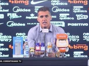 """CORINTHIANS: Mancini valoriza vitória sobre o Novorizontino, mesmo que tenha ajudado o Palmeiras: """"No futebol vivemos de vitórias e isso dignifica a camisa do clube"""""""