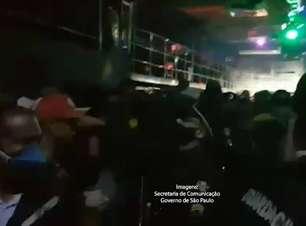 Duas festas clandestinas com 700 pessoas são autuadas em SP