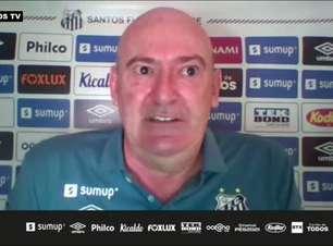 """SANTOS: Rueda comenta negociações por treinadores e o acordo com Diniz: """"Apresentamos a nossa situação e ele gostou do nosso projeto a médio prazo"""""""