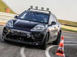 Porsche Macan elétrico inicia testes para estrear em 2023