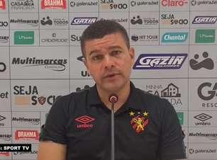 """SPORT: Umberto Louzer acredita em dificuldades para a decisão contra o Náutico e afirma: """"Será um jogo muito estudado"""""""