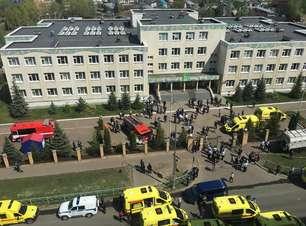 Ataque a tiros em escola da Rússia mata crianças e um professor