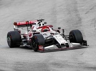 Com Albon e Kubica, Red Bull e Alfa Romeo testam pneus de 18 da Pirelli para 2022