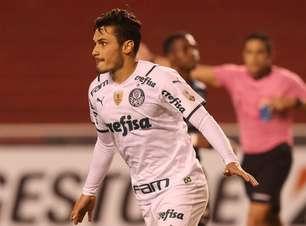 Raphael Veiga celebra vitória do Palmeiras na altitude pela Libertadores: 'Soubemos sofrer'