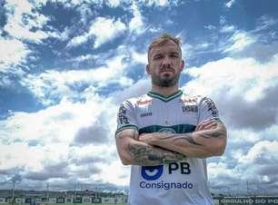Líder no Coritiba, Willian Farias quer evolução da equipe na temporada