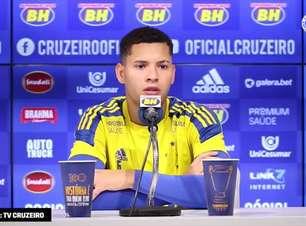 """CRUZEIRO: Matheus Pereira crê que time está mais preparado para Série B em relação ao ano passado: """"não sabíamos como lidar"""""""