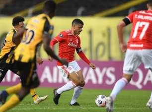 Ramírez escolhe o gramado como culpado pela derrota do Internacional pela Libertadores