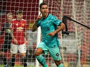 Firmino faz 2, Liverpool bate United e briga por Champions